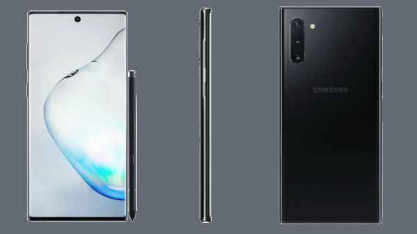 Samsung Galaxy Note 10 Lite Arriving Today