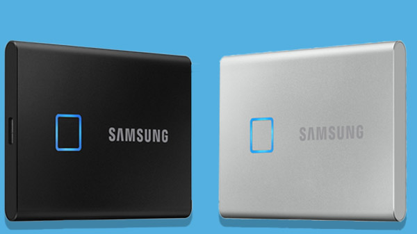 Samsung Launches Portable SSD T7 Touch With Fingerprint Scanner