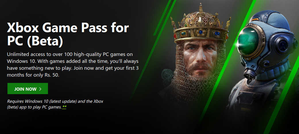 Xbox Game Pass, Xbox Live Gold Price Cut In India