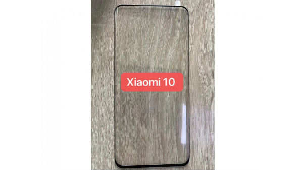 Xiaomi Mi 10 Tempered Glass Leaks Showing Curved Design