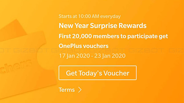 OnePlus New Year Surprise Rewards Announced For Red Cable Club Members
