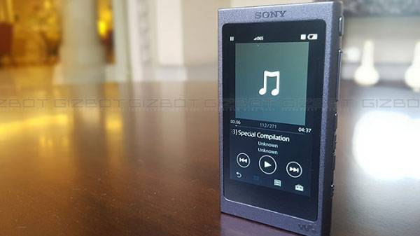 Sony's NW-A105 Android Walkman Launched
