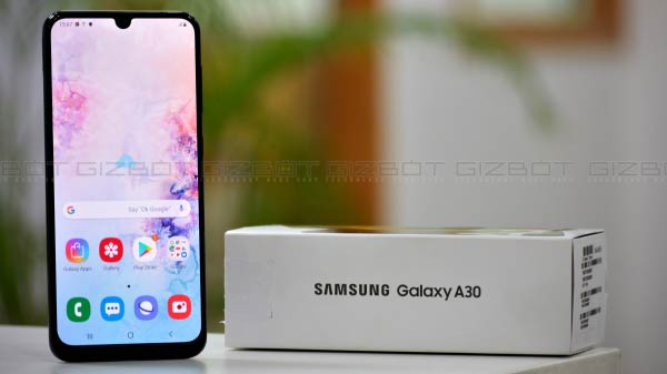 Samsung Galaxy A30 Receives Android 10-Based One UI 2.0 Update