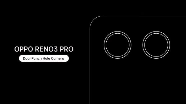 Oppo Teases Reno3 Pro With 44MP Dual Punch-Hole Camera