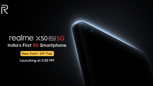 Realme X50 Pro 5G Confirmed To Launch On Feb 24th In India