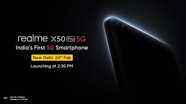 Realme X50 Pro 5G Set To Go Live Today In India: Watch The Live Stream