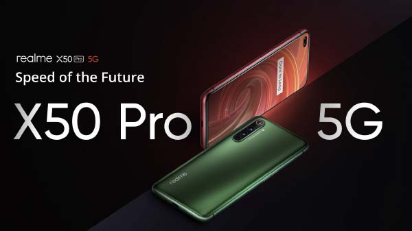 Realme X50 5G With 65W SuperDart Flash Charging Launched In India