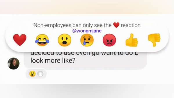 Instagram Direct Messages Likely To Get Facebook Reactions