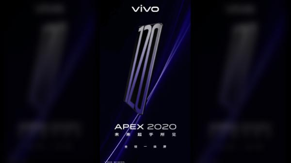 Vivo Teases APEX 2020 Concept Smartphone, Announces Launch Date