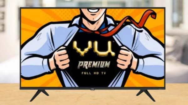 Vu Launches Premium Tvs With Android TV 9 Pie In India