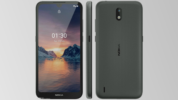 Alleged Nokia 1.3 Official Render Hits The Web Ahead Of Launch