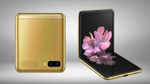 Samsung Launches Galaxy Z Flip In Mirror Gold Colour In India