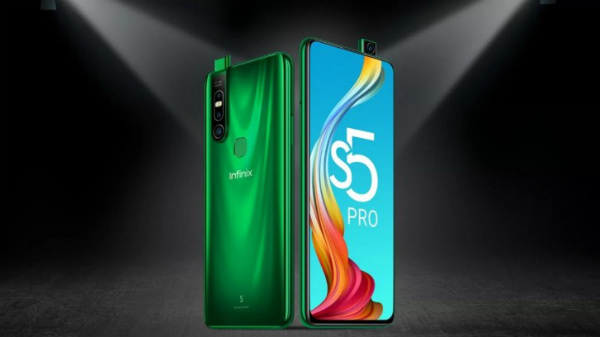Infinix S5 Pro With Pop-Up Selfie Camera Launched For Rs. 9,999