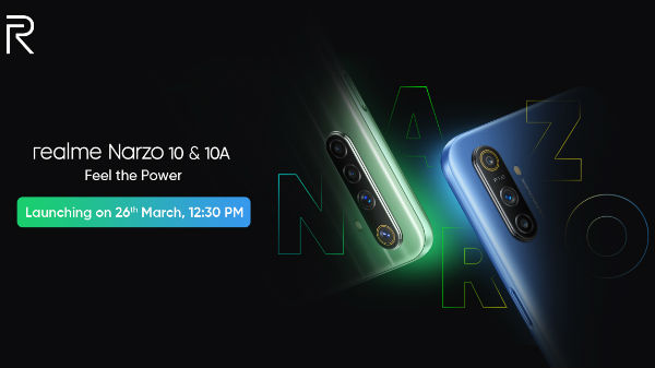 Realme Postpones Narzo 10,10A Launch Due To Lockdown In India