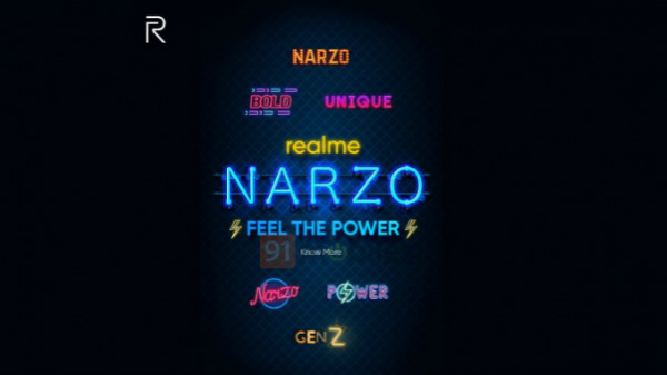 Realme Narzo Series Smartphones To Compete Against Poco, Redmi