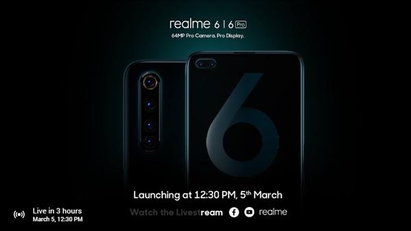 Realme 6, Realme 6 Pro, Realme Band Set To Launch In India Today
