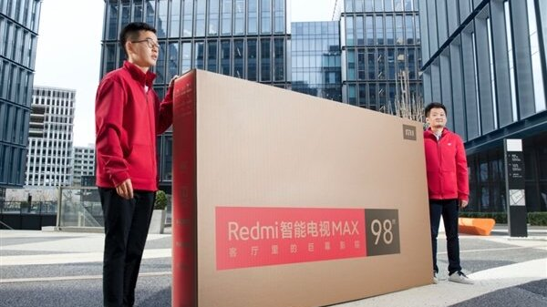 Redmi Smart TV Max 98-Inch With Exclusive Delivery Launched