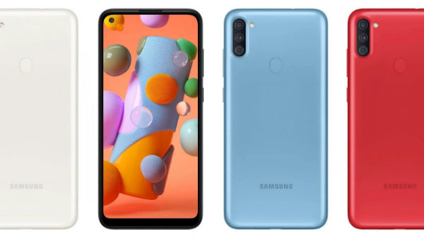 Samsung Galaxy A11 Launched With Punch-Hole Display