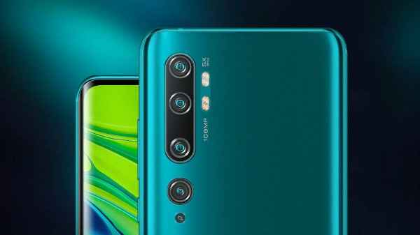 Alleged Mi Note 10 Lite With Five Cameras Bags FCC Certification