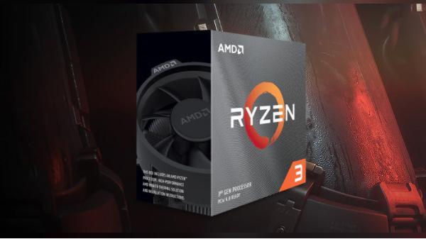 AMD Ryzen 3 3100, Ryzen 3 3300x Super Efficient CPUs Announced