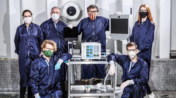 COVID-19 Pandemic: NASA Builds Prototype Ventilators