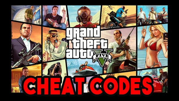 GTA 5 Cheat codes For Play Station 4, Xbox One, And Pc