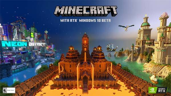 Minicraft Nvidia RTX Beta Goes Live For Windows 10
