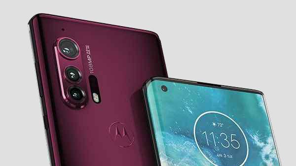 Motorola Edge With Waterfall Display Making Debut On April 22