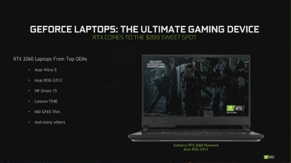 Nvidia Announces 100 Plus GeForce GPU-Powered Laptops