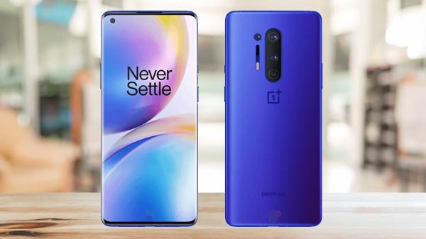 OnePlus 8 Pro Leaked Render Reveals New Ultramarine Blue Color Variant