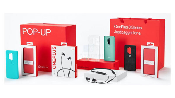 OnePlus 8 Pop Up Box Ingredients Revealed Ahead of the Launch