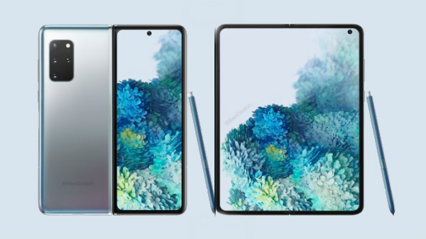 Samsung Galaxy Fold 2 Renders Hint Punch Hole Display & S-Pen Support