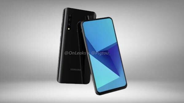 Samsung's First Pop-Up Selfie Camera Phone Surfaces In Leaked Renders