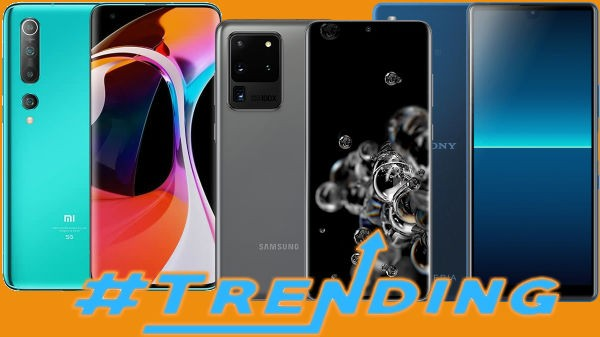 Last Week Most Trending Smartphones: Xiaomi Mi 10 Lite, Huawei P40 Pro+, Redmi K30 Pro And More