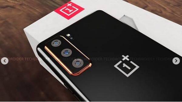 OnePlus Z Concept Render Surfaces Online With Punch Hole Display, Triple Camera Setup