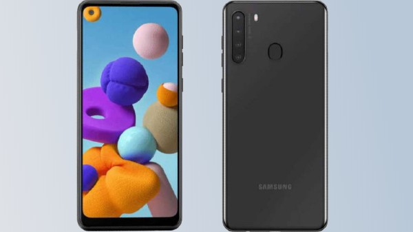 Samsung Galaxy A21 Renders Leak Complete Design Ahead Of Launch