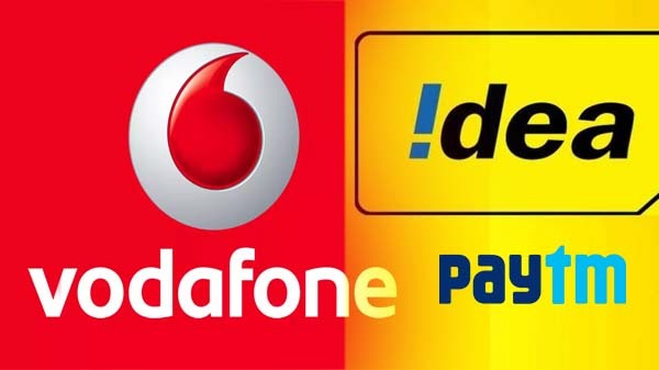 Vodafone-Idea Join Hands With Paytm To Launch New Prepaid Facility
