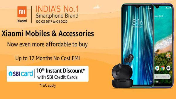 Buy Xiaomi Smartphones With Irresistible Discounts On Amazon