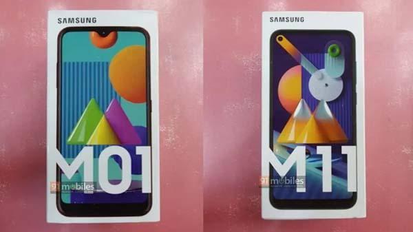 Samsung Galaxy M11, Galaxy M01 Retail Price Confirmed Via New Leak