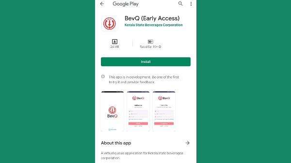 Bev Q App For Buying Liquor Gets Google Play Store Approval