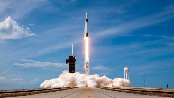 SpaceX, NASA Liftoff Historic Crewed Mission To ISS