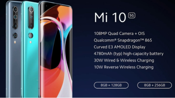 Xiaomi Mi 10 5G India Launch Highlights, Features, Price, Availability