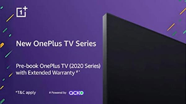 OnePlus TV 2020 Models Listed On Amazon For Pre-Order Ahead Of Launch