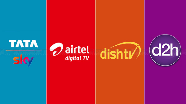 Tata Sky Vs Dish TV Vs Airtel Digital TV Vs D2h
