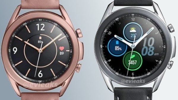 Samsung Galaxy Watch 3 Renders Reveal Possible Color Variants