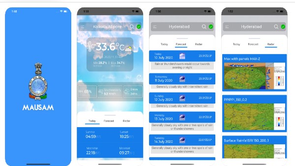 IMD Launches Its First Weather App Mausam For Timely Weather Forecasts