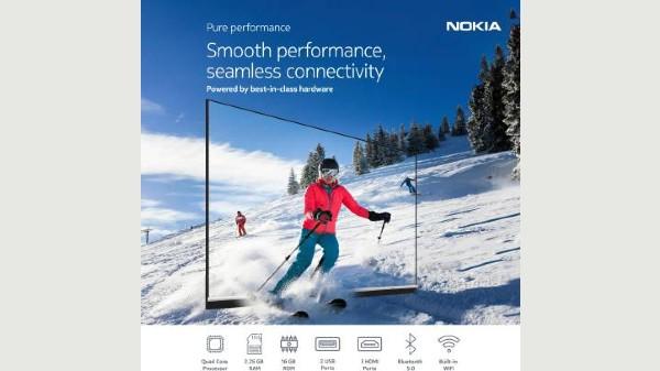 Nokia 65-Inch Smart TV Comes With Revamped Design; Debuts On Flipkart
