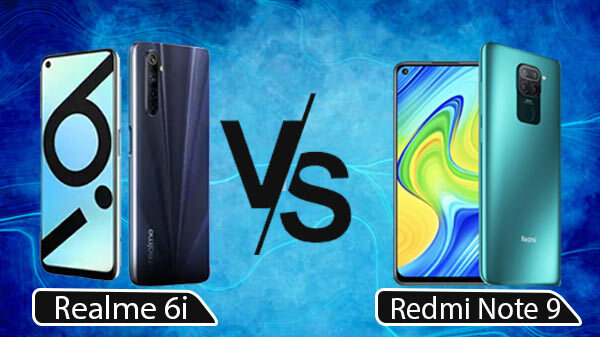 Realme 6i Vs Redmi Note 9; Which Is The One For You?