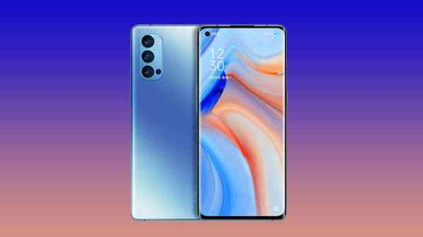 Oppo Reno 4 Pro Indian Variant's Live Images Leaked Online