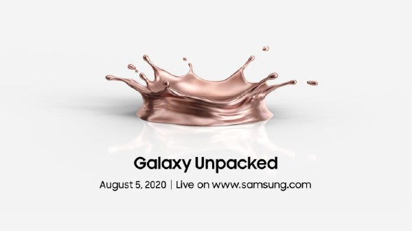 Samsung Galaxy Unpacked 2020 Set For August 5: What To Expect